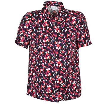 Odjeća Žene  Košulje kratkih rukava American Retro NEOSHIRT Crna / Ružičasta / Narančasta