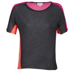 Odjeća Žene  Majice kratkih rukava American Retro CAROLE Crna / Ružičasta