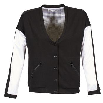 Odjeća Žene  Kratke jakne American Retro CHARONNE Crna / Bijela