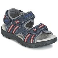 Obuća Djevojčica Sportske sandale Geox S.STRADA A Red