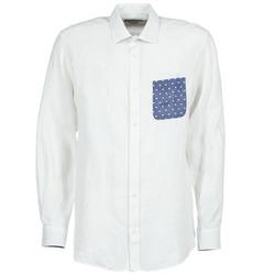 Odjeća Muškarci  Košulje dugih rukava Serge Blanco CHACA Bijela