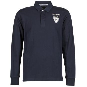 Odjeća Muškarci  Polo majice dugih rukava Serge Blanco RUGBY LEAGUE Blue