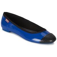 Obuća Žene  Balerinke i Mary Jane cipele Hunter ORIGINAL BALLET FLAT Kobaltová modř