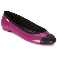Obuća Žene  Balerinke i Mary Jane cipele Hunter ORIGINAL BALLET FLAT Raspberry