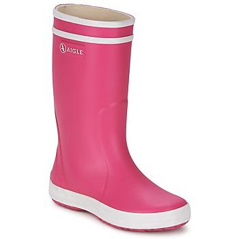Obuća Djevojčica Gumene čizme Aigle LOLLY-POP Ružičasta / Bijela