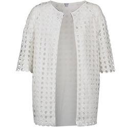 Odjeća Žene  Kaputi Brigitte Bardot BB44197 Bijela