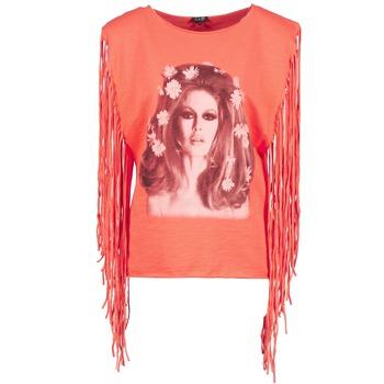 Odjeća Žene  Majice s naramenicama i majice bez rukava Brigitte Bardot BB44075 Korálová
