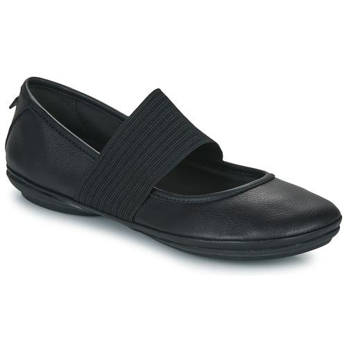 Obuća Žene  Balerinke i Mary Jane cipele Camper RIGHT NINA Crna