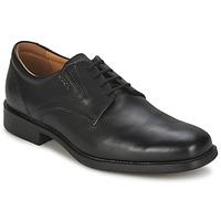 Obuća Muškarci  Derby cipele Geox FEDERICO Crna