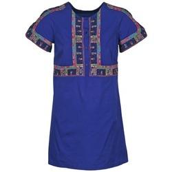 Odjeća Žene  Kratke haljine Antik Batik EMILIE Blue