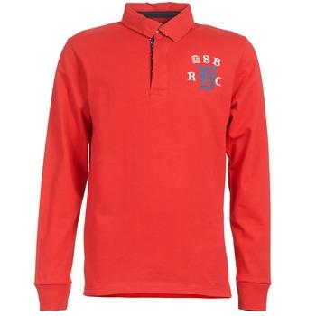 Odjeća Muškarci  Polo majice dugih rukava Serge Blanco MATO Red