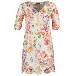 Odjeća Žene  Kratke haljine Derhy EBULLITION Krem boja