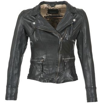 Odjeća Žene  Kožne i sintetičke jakne Oakwood CAMERA Crna