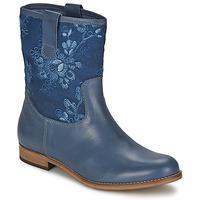 Obuća Žene  Polučizme Alba Moda FALINA Blue