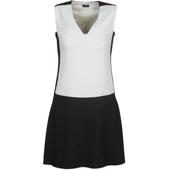 Odjeća Žene  Kratke haljine Joseph DORIA Crna / Bijela