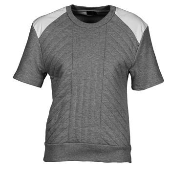 Odjeća Žene  Sportske majice Joseph RD NK SS Siva / Raznobojno tkanje / Bijela