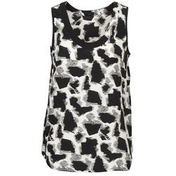 Odjeća Žene  Majice s naramenicama i majice bez rukava Joseph DEBUTANTE Crna / Bijela / Siva
