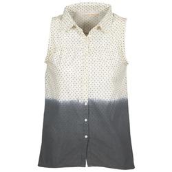 Odjeća Žene  Košulje i bluze Teddy Smith CAMILLE Blue / Krem boja