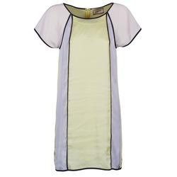 Odjeća Žene  Kratke haljine Chipie FREGENAL Žuta / Siva