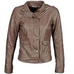 Odjeća Žene  Kožne i sintetičke jakne DDP GIRUP Smeđa