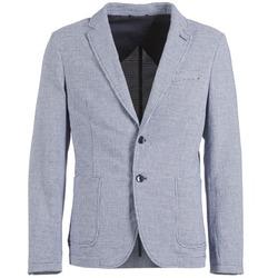 Odjeća Muškarci  Jakne i sakoi Benetton CHEVOTU Blue