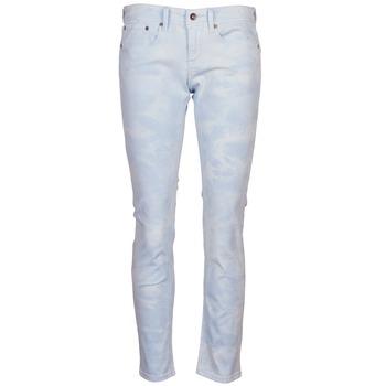 Odjeća Žene  Hlače s pet džepova Roxy SUNTRIPPERS TIE-DYE Blue