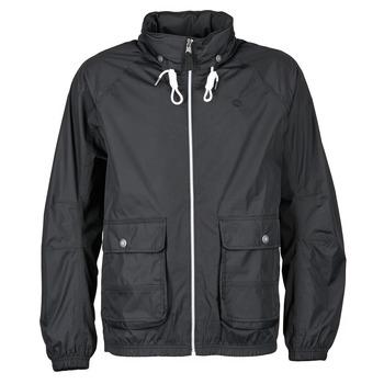 Odjeća Muškarci  Vjetrovke Timberland FRANKLIN HOODED JACKET Crna