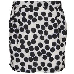 Odjeća Žene  Suknje Lola JUNGLE Crna / Bijela