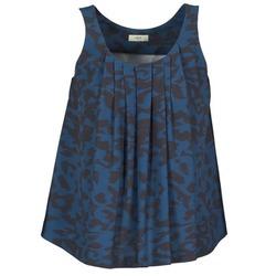 Odjeća Žene  Majice s naramenicama i majice bez rukava Lola CUBA Blue / Crna