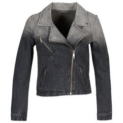 Odjeća Žene  Traper jakne Volcom DENIMES Crna