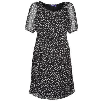 Odjeća Žene  Kratke haljine Mexx 13LW130 Crna / Bijela