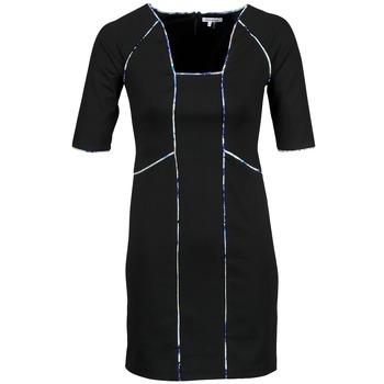 Odjeća Žene  Kratke haljine Manoukian 613369 Crna