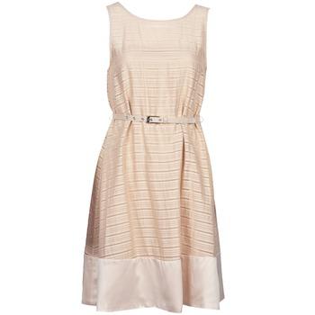 Odjeća Žene  Kratke haljine Manoukian 613374 Bež