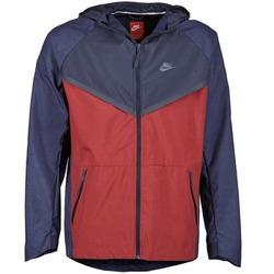 Odjeća Muškarci  Vjetrovke Nike TECH WINDRUNNER Red / Grey