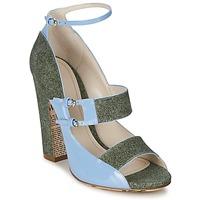 Obuća Žene  Sandale i polusandale John Galliano A54250 Blue / Green