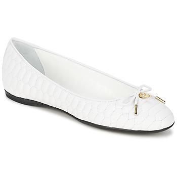 Obuća Žene  Balerinke i Mary Jane cipele Roberto Cavalli XPS151-PN119 Bijela