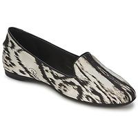 Obuća Žene  Balerinke i Mary Jane cipele Roberto Cavalli XPS280-FLA35 Bež / Crna