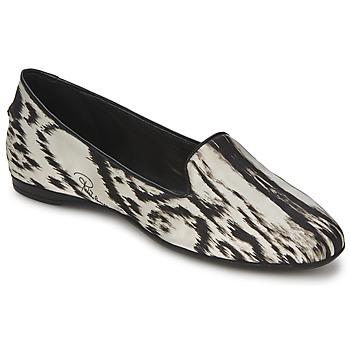 Obuća Žene  Balerinke i Mary Jane cipele Roberto Cavalli XPS280-FLA35 Béžová / Crna