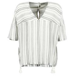 Odjeća Žene  Topovi i bluze Stella Forest OWONI Krémově bílá / Siva