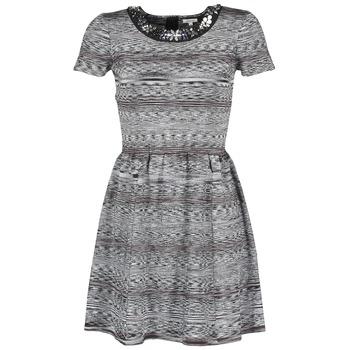 Odjeća Žene  Kratke haljine Manoush BIJOU ROBE Crna / Siva