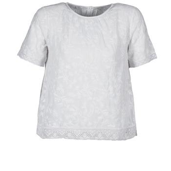 Odjeća Žene  Majice kratkih rukava Manoush COTONNADE SMOCKEE Bijela