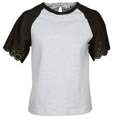 Odjeća Žene  Majice kratkih rukava Manoush FANCY Siva / Crna