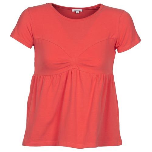 Odjeća Žene  Majice kratkih rukava Manoush MOLLETON Korálová