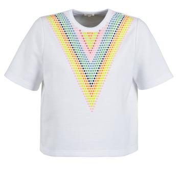 Odjeća Žene  Sportske majice Manoush DOUDOU STAR Bijela