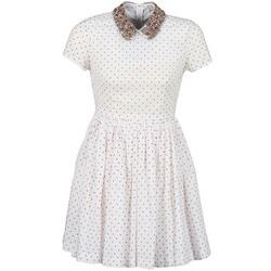 Odjeća Žene  Kratke haljine Manoush PLUMETIS STRASS Bijela / Red