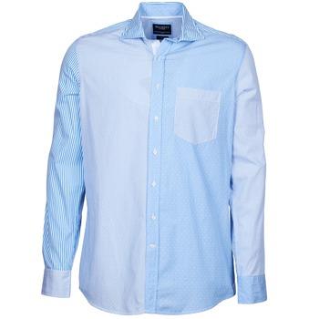 Odjeća Muškarci  Košulje dugih rukava Hackett GORDON Blue