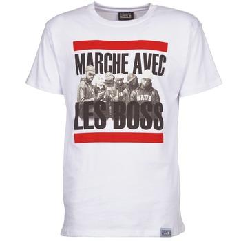 Odjeća Muškarci  Majice kratkih rukava Wati B BOSS Bijela