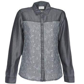 Odjeća Žene  Košulje i bluze Esprit Denim Blouse Siva