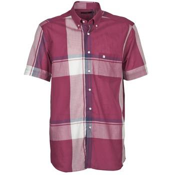Odjeća Muškarci  Košulje kratkih rukava Pierre Cardin 538536226-860 Ljubičasta / Ljubičasta