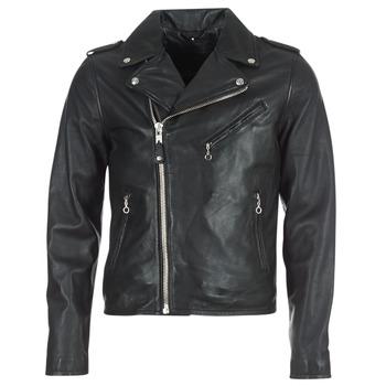 Odjeća Muškarci  Kožne i sintetičke jakne Schott LEVOQ Crna